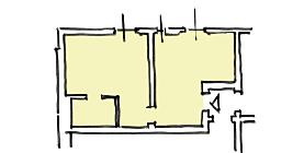 appartamento porto 15 tipologia C1