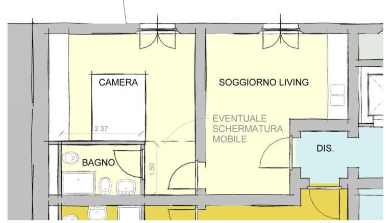 Richiesta di modifica spazi - Alloggio C1