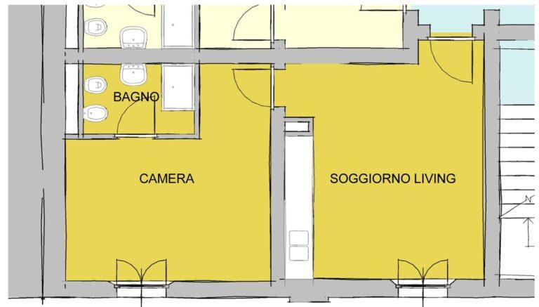 Richiesta di modifica spazi - Alloggio C3