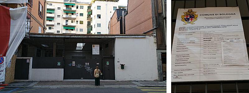 richiesta di modifica spazi - capannone