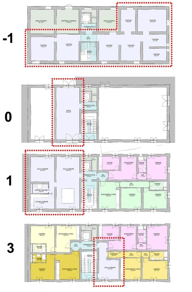 spazi comuni e spazi privati 02